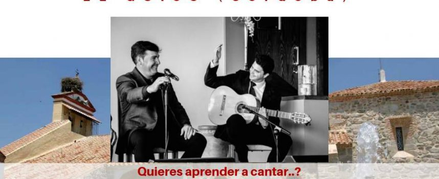¿Quieres aprender a cantar flamenco? En El Guijo puedes hacerlo