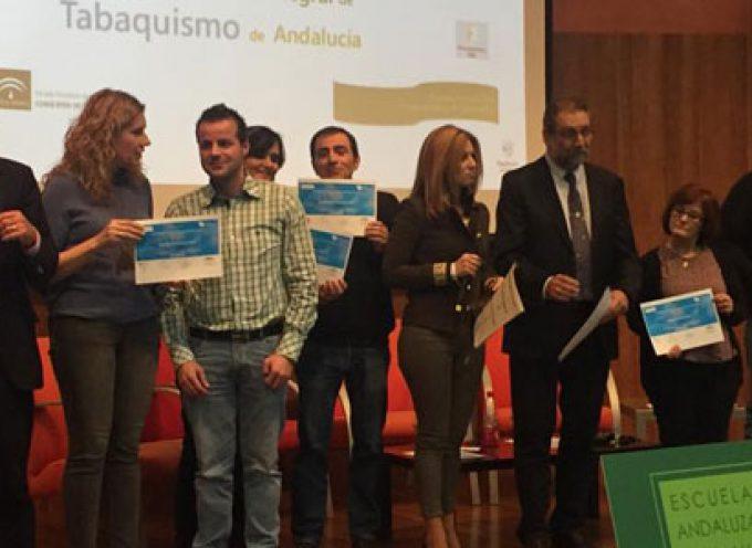 El Hospital Valle de los Pedroches renueva la Medalla de Bronce de la Red Andaluza de Servicios Sanitarios y Espacios Libres de Humo