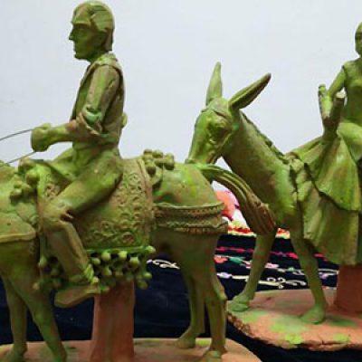Surge una propuesta para crear una escultura sobre la Fiesta de los Piostros en Pedroche