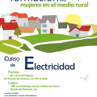 Curso de electricidad para mujeres en Villanueva de Córdoba