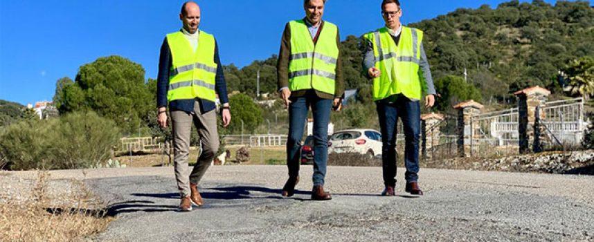 El PP acusa al PSOE de bloquear el arreglo de la carretera de Villaharta