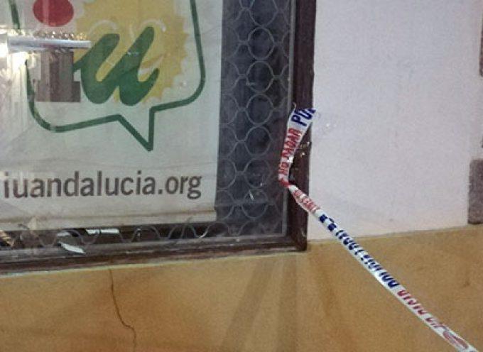 Denunciado un ataque a la sede de Izquierda Unida en Hinojosa del Duque