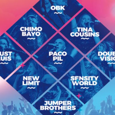 La gira 'Love the 90's' pasará por el Slow Music de Pozoblanco con OBK y Chimo Bayo