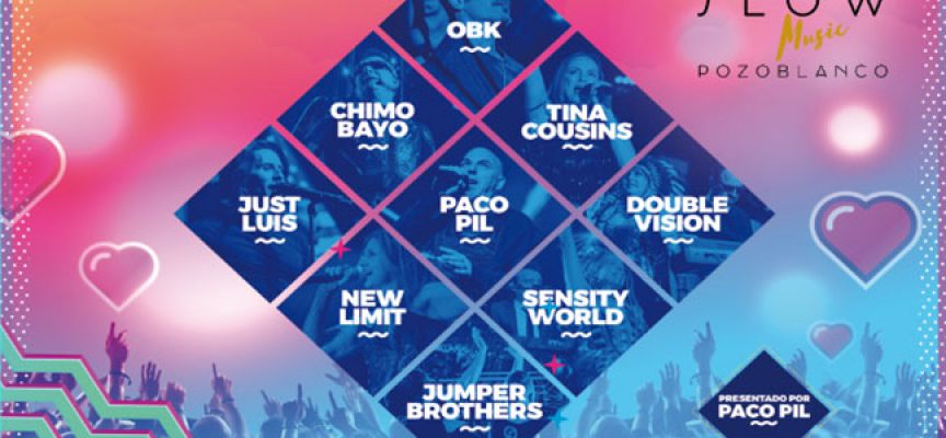 La gira 'Love the 90's' pasará por el Slow Music de Pozoblanco con OBK y Chimo Bayo