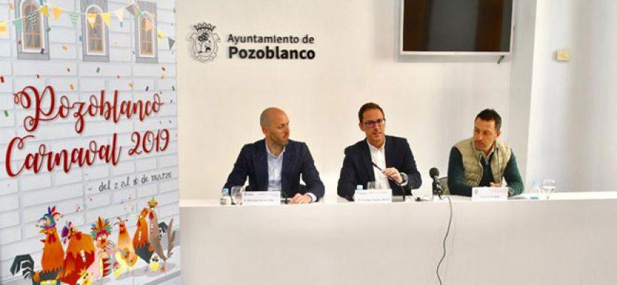 El  Ayuntamiento de Pozoblanco coorganiza por vez primera las fiestas del Carnaval a petición de la Agrupación