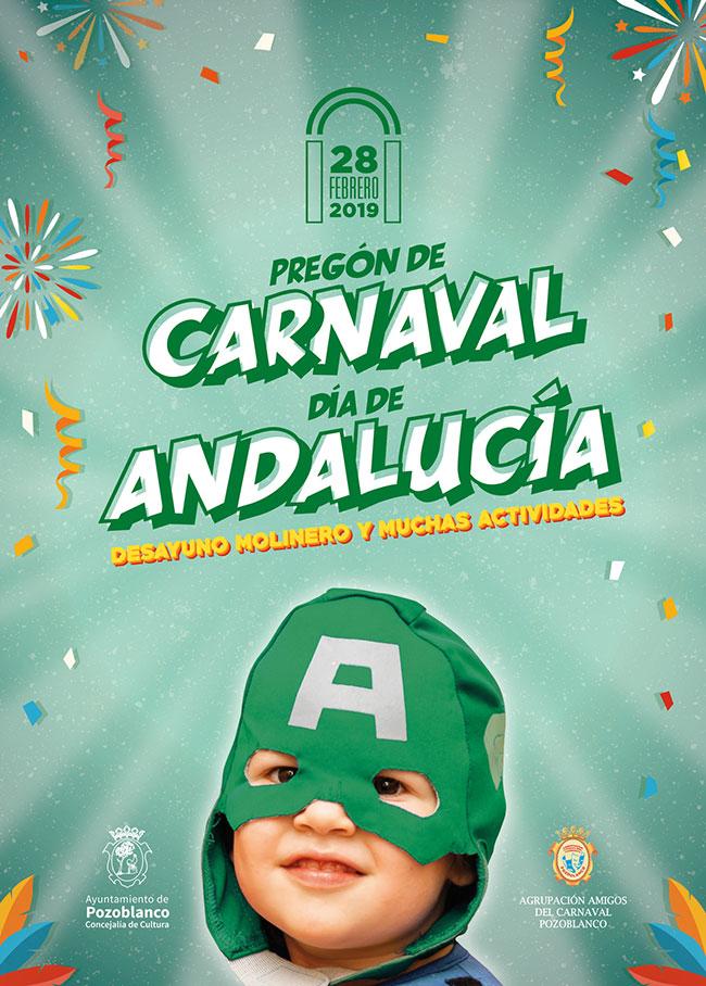 El carnaval pozoalbense pregonará su fiesta cantándole a Pozoblanco y a Andalucía en su día grande