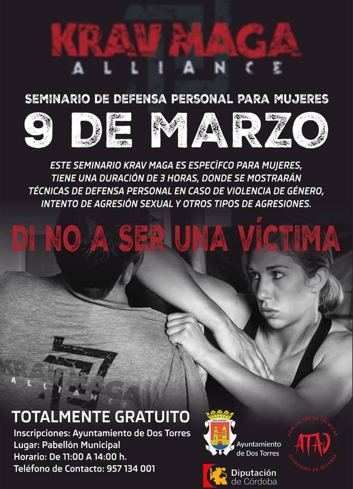 Un seminario de defensa personal para mujeres en Dos Torres
