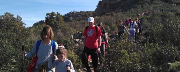 Más de cincuenta miembros de la UCO visitan la Sierra de Santa Eufemia con Andalucía Ecocampus