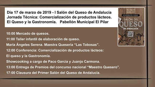 I Salón del Queso de Andalucía