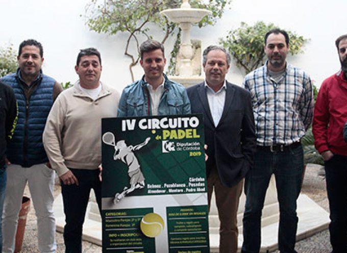 La IV edición del Circuito de Pádel Diputación de Córdoba pasará por Pozoblanco