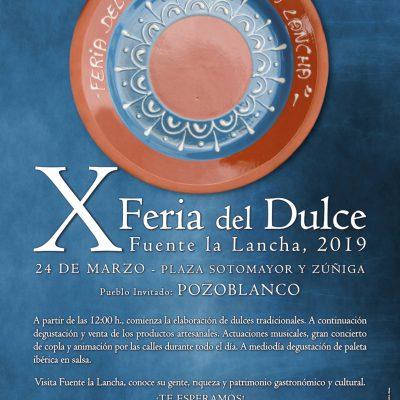 'X Feria del Dulce', en Fuente la Lancha