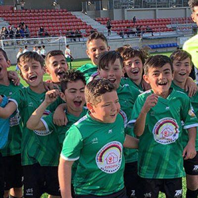 El Alevín C y el Benjamín A de la Escuela Fútbol Base Pozoblanco se proclaman Campeones de Liga