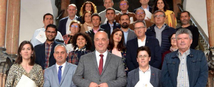 La Diputación suscribe convenios con 6 municipios de Los Pedroches para asistencia técnica en materia de vivienda protegida