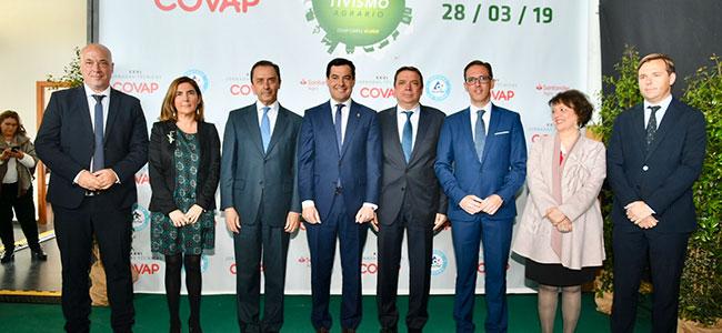 El Gobierno y la Junta presentan a COVAP como uno de los mejores ejemplos del modelo cooperativo en su 60 aniversario
