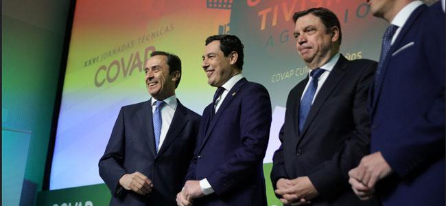 El Presidente de la Junta anuncia en Pozoblanco el desbloqueo de ayudas al sector agroindustrial