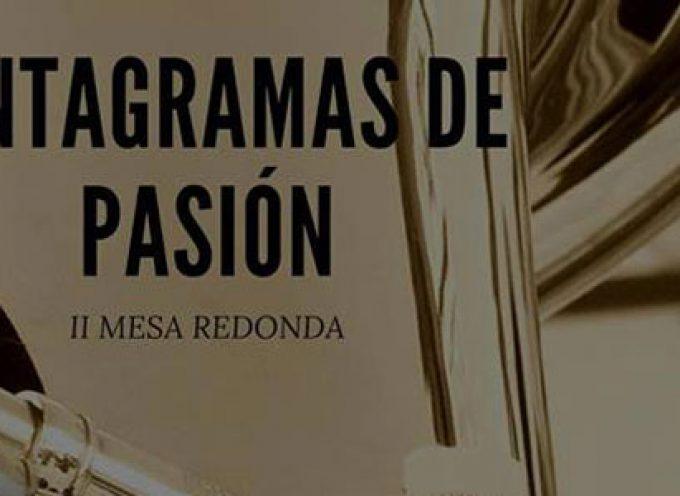 'Pentagramas de Pasión', una mesa redonda con directores de bandas de música, en Pozoblanco