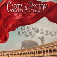Libro 'Carta a Polión', de Alfonso Cantador Alias