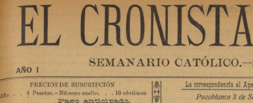 Ya disponibles los ejemplares digitalizados de 'El Cronista del Valle'
