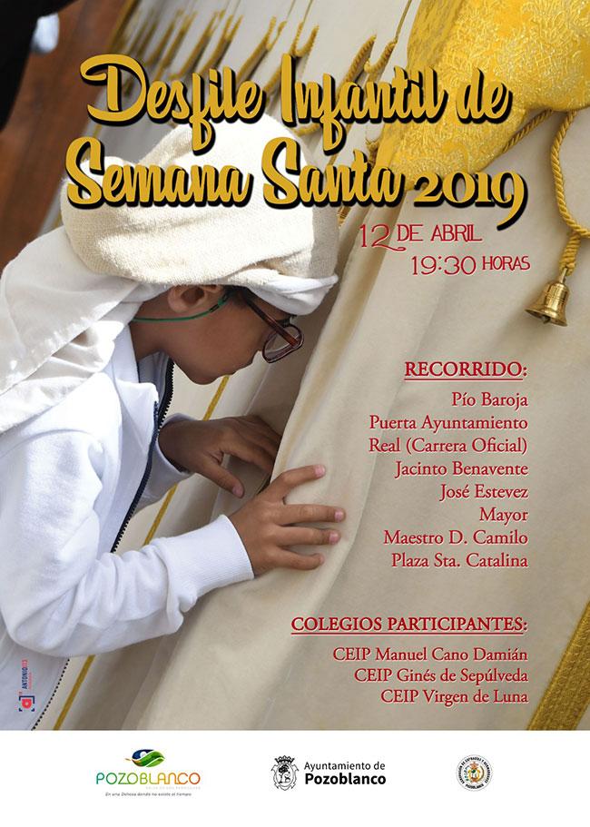 Turismo Pozoblanco organiza este viernes un desfile infantil para difundir las tradicionales procesiones de Semana Santa