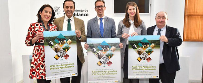 La XXVII Feria Agroganadera y XVII Agroalimentaria de Los Pedroches contará con 1.200 cabezas de ganado