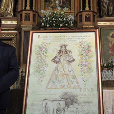 Presentado el cartel de la Romería de la Antigua 2019 en Hinojosa del Duque