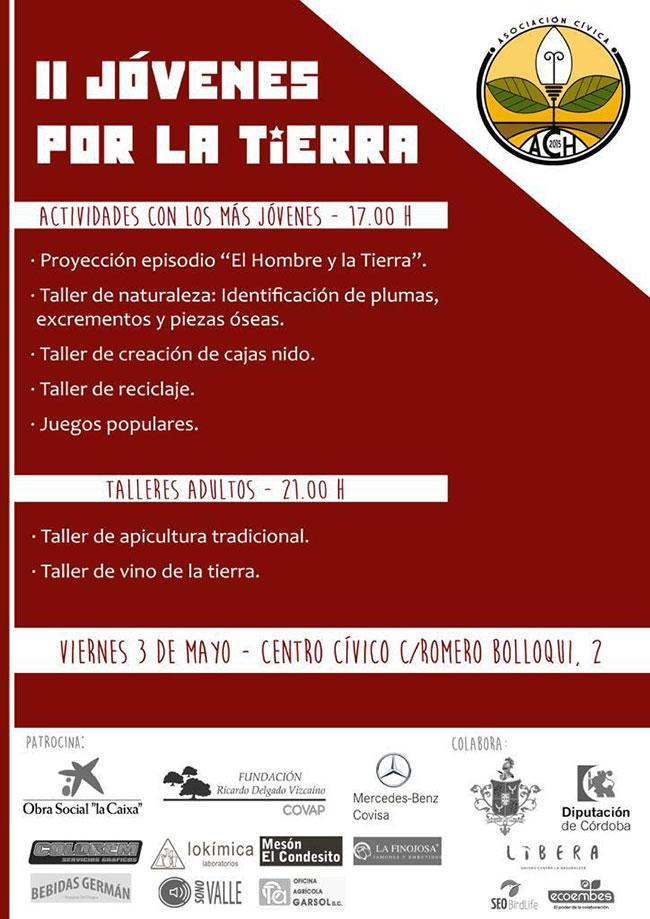 Llega la segunda edición del festival Jóvenes por la Tierra en Hinojosa del Duque