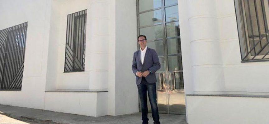Santiago Cabello apuesta por el Centro de Desarrollo Económico de Pozoblanco como referente empresarial y tecnológico