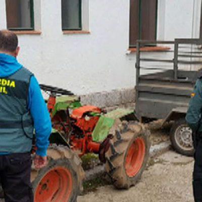 Detenidas quince personas por robo en explotaciones agrícolas de la zona norte de Córdoba