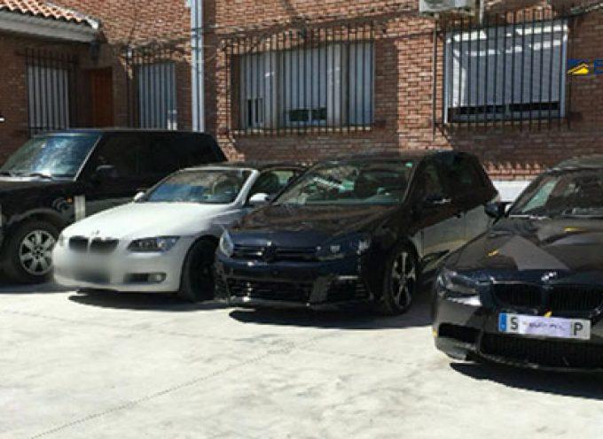 Desarticulada una organización criminal dedicada al tráfico ilícito de vehículos de alta gama, con detenidos de Hinojosa del Duque