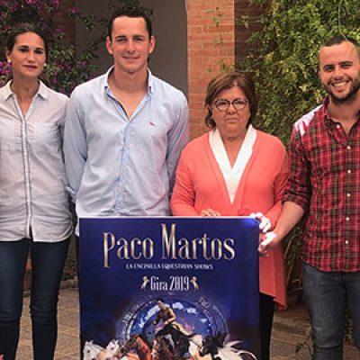 Paco Martos iniciará en Villanueva de Córdoba la gira de su espectáculo internacional ecuestre