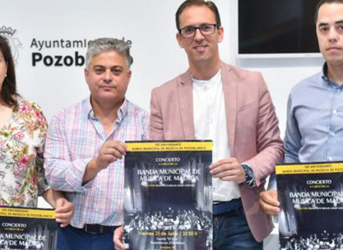 La Banda de Música Municipal de Málaga actuará en El Silo con motivo del 150 aniversario de la banda pozoalbense