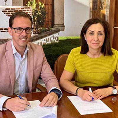 El Ayuntamiento de Pozoblanco firma un convenio con la Asociación Recuerda