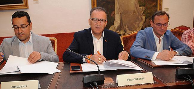 Iprodeco y los GDRs de la provincia continúan su colaboración en pro del desarrollo del medio rural de la provincia