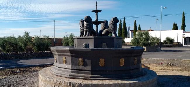 La fuente de 'Los Pedroches' de Alcaracejos cambia de ubicación