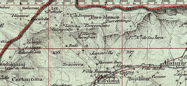 Mapa de Andalucía, 1810