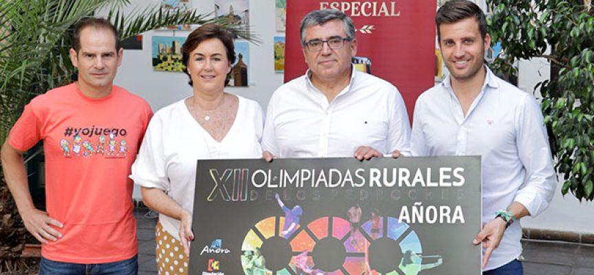 Las XII Olimpiadas Rurales de Los Pedroches constituyen 'un ejemplo de compromiso con los valores del territorio'