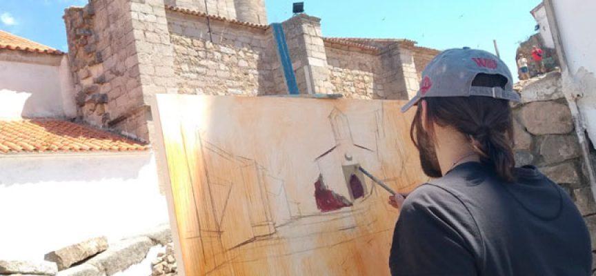 Javier Martín gana el II Concurso de Pintura Rápida 'Villa de Pedroche'