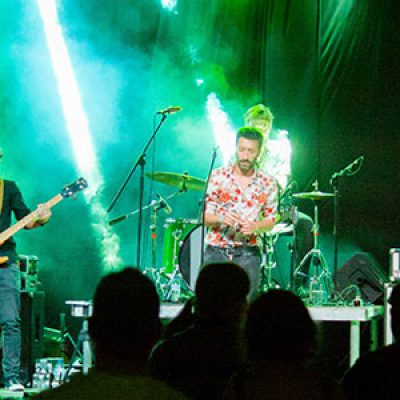 El grupo pozoalbense 'Algunos hombres', ganador del IV Certamen de Música Preventiva
