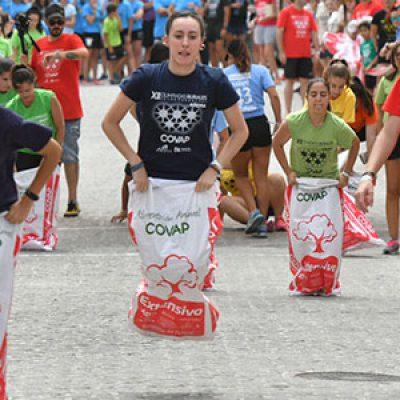Añora se llena de valores olímpicos y de respeto a las tradiciones del mundo rural