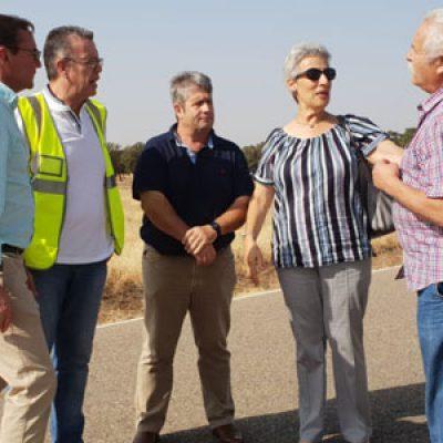 Diputación realiza la reparación parcial de la CO-9402 de Belalcázar a Santa Eufemia