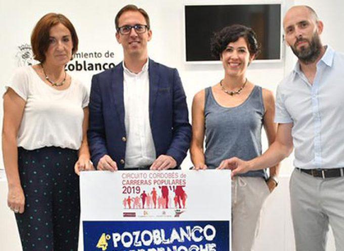 Récord de participación con más de 300 atletas en la 4ª carrera 'Pozoblanco corre de noche'