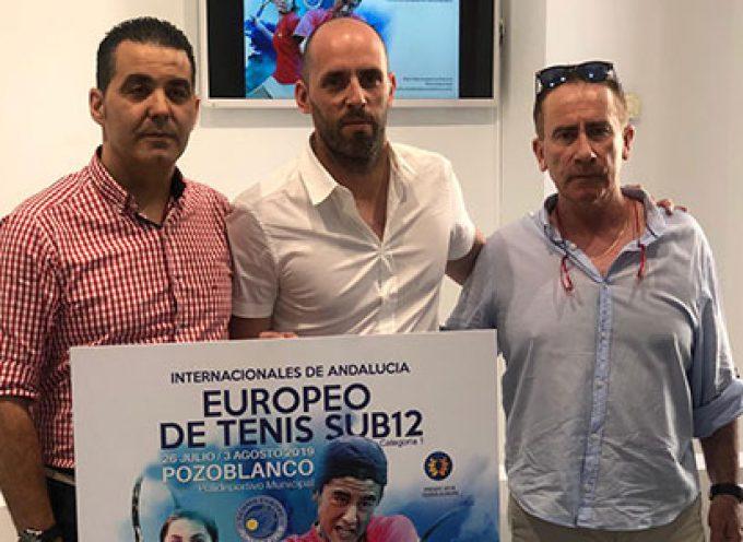 Pozoblanco recibirá a jugadores de 20 países en el Tennis Europe U12