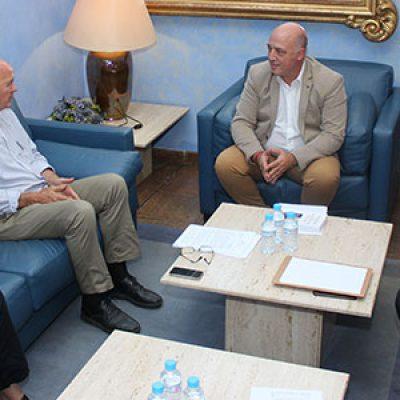La Diputación, la Mancomunidad de Los Pedroches y la Fundación Savia analizan el problema de la sequía en la zona