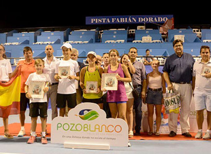 Flynn Richter y Alexia González se alzan con el triunfo en los Internacionales de Andalucía Sub 12, en Pozoblanco