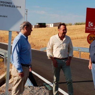 La Diputación destina 220.000 euros a la reparación parcial de la CO-9402 de Belalcázar a Santa Eufemia