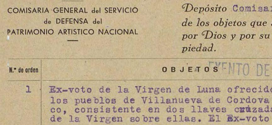 Documentos de Los Pedroches en el Archivo del Instituto del Patrimonio Cultural de España, ya disponibles para su consulta