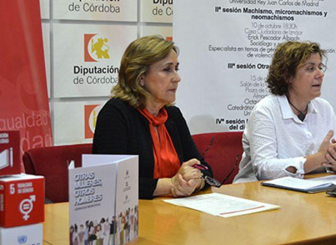 'Otras mujeres, otros hombres', una actividad formativa de Diputación y la Cátedra Leonor de Guzmán en Villanueva de Córdoba