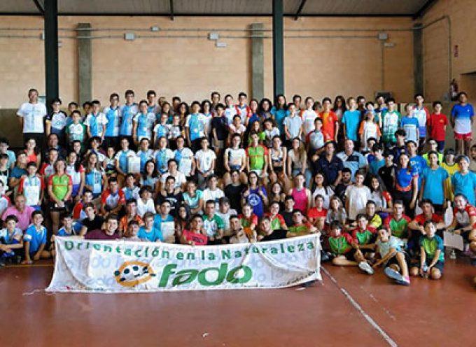 El Campeonato de Andalucía de Deporte Base 2019 de Orientación en Pedroche y Villaralto