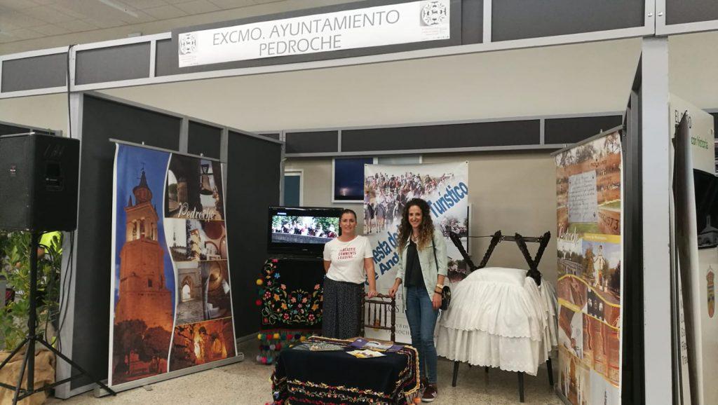 Pedroche de promoción en la II Feria del Turismo de Hinojosa del Duque