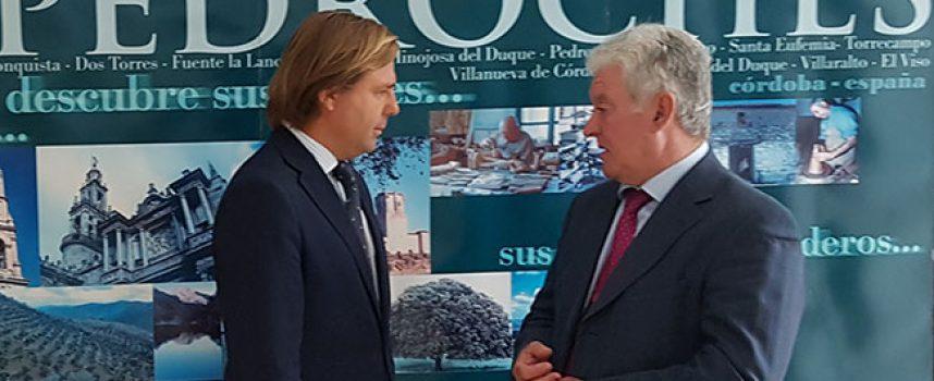 El Presidente de la Mancomunidad pide a la Junta de Andalucía más oportunidades para el desarrollo de Los Pedroches